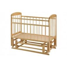 """Детская кроватка """"Мишутка 11"""" (поперечный маятник) без ящика"""