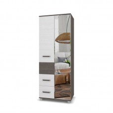 "Шкаф 2-х ств. с ящиками и зеркалом ""Виора 24"""