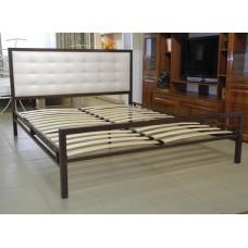"""Кровать """"Лагуна"""" венге/беж"""