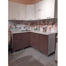 """Кухонный гарнитур """"Бостон"""" ваниль/шоколад"""