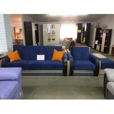 """Комплект мягкой мебели """"Сиеста 4"""" (диван + кресло + пуф)"""