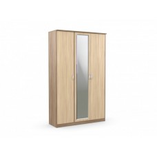 """Шкаф 3-х створчатый """"Дуэт Люкс"""" с зеркалом"""