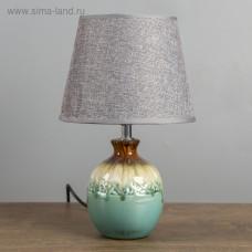 "Лампа настольная керамика ""Лазурный берег"" 32*20*20 см"